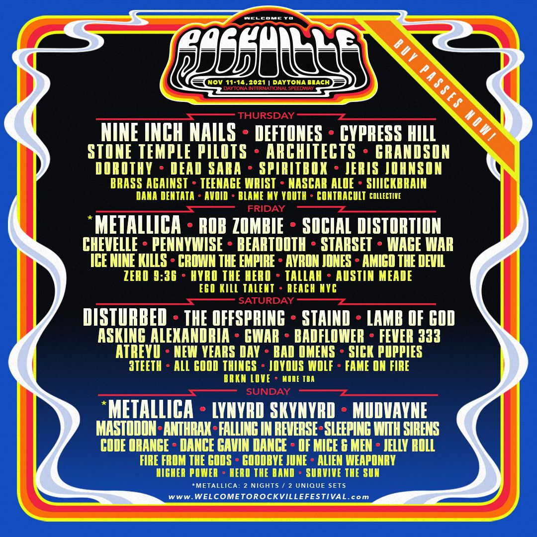 2021 Welcome To Rockville Festival